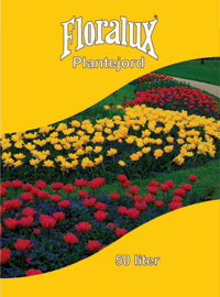 plantejord floralux 50 liter